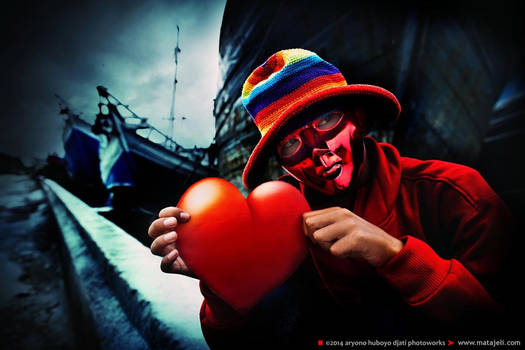 Kawanku Erwin Red Heart