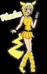 Pikachu Girl by CrystalRobot123