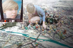 Giantess Ellie Wrecks Havoc on the City