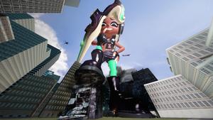 Giantess Marina Stomps Back