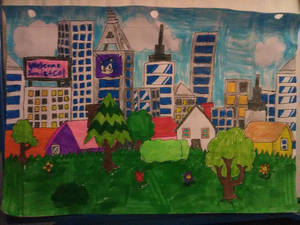 Pantaloon Suburbs Act 1 Background (Sketch)