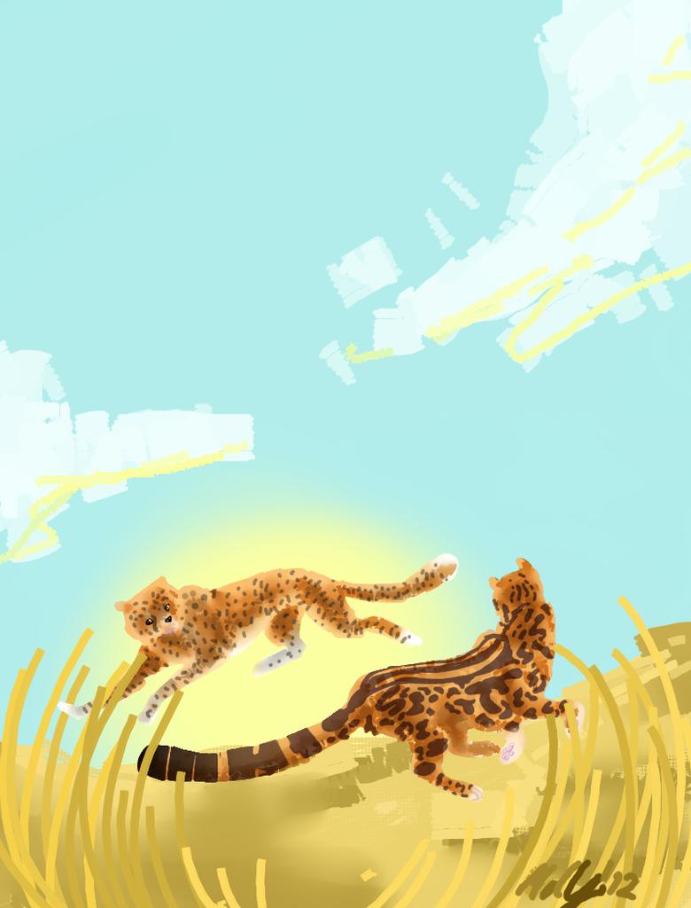 World Cheetah Day!!! by eeveerockshard