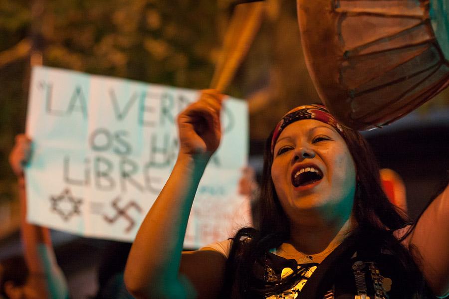 Apoyo al pueblo mapuche y palestino by AriCaFoix