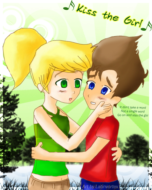 JN : Kiss the Girl by latinvortex
