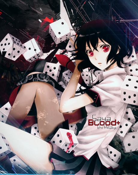 Kisagi's Graphic stuff xD - Page 2 Saya_blood__by_17flip-d6pju4b