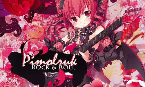 Kisagi's Graph Pimolruk_rock_and_roll_signature_by_17flip-d7bab22