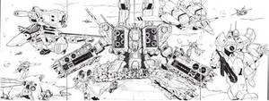 Robotech Collage
