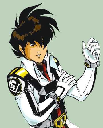 Rick beyond the Robotech Macross Saga by glane21