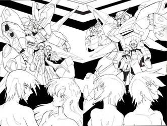 Gundam Destiny by glane21