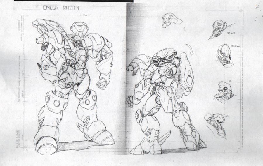 Robo Dojo Enemy Mecha Design 2 by glane21