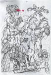 Robotech Cover Pencils