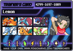 My very own trainer card! by Madame-Lemon