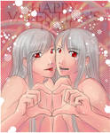 Happy Twined Valentine's Day
