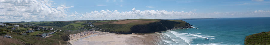 Mawgan Porth by Pufflesthemallow