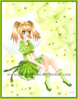 cute in GREEN by DiNDiN-HiME