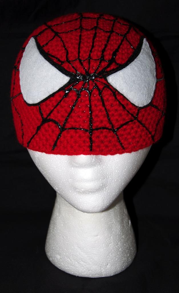 Spiderman Beanie By Rainbowdreamfactory On Deviantart