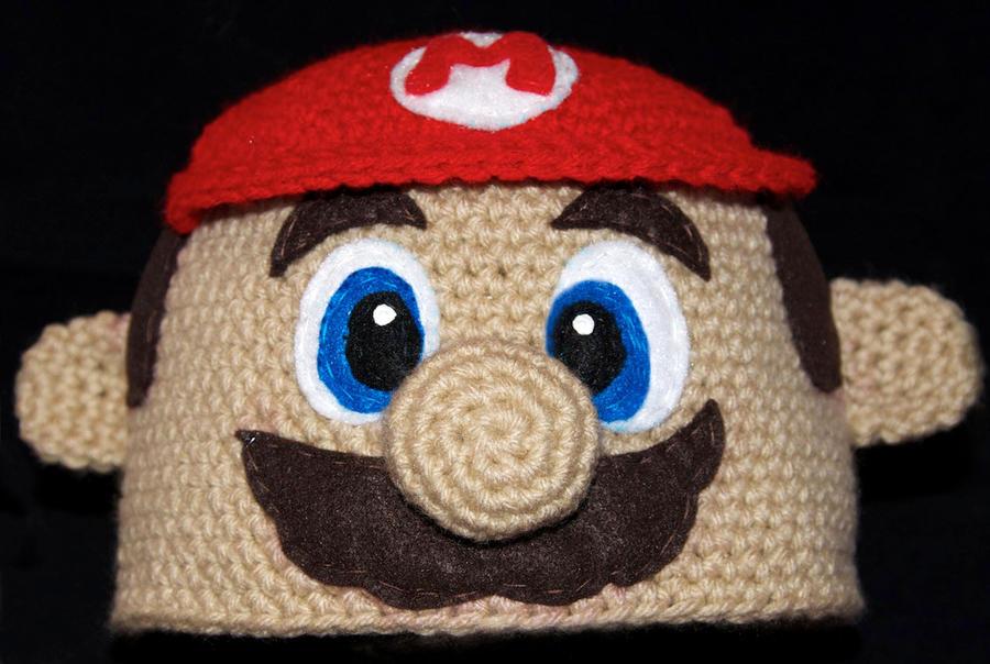 Crochet Pattern Mario Hat : Mario Beanie by rainbowdreamfactory on DeviantArt