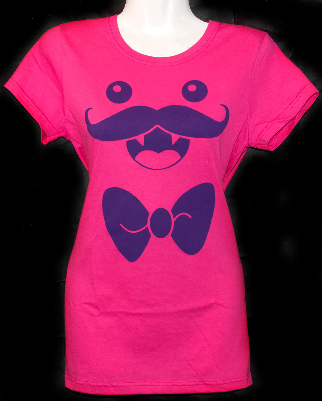 Nigel the Mustachioed Monster Tee by rainbowdreamfactory
