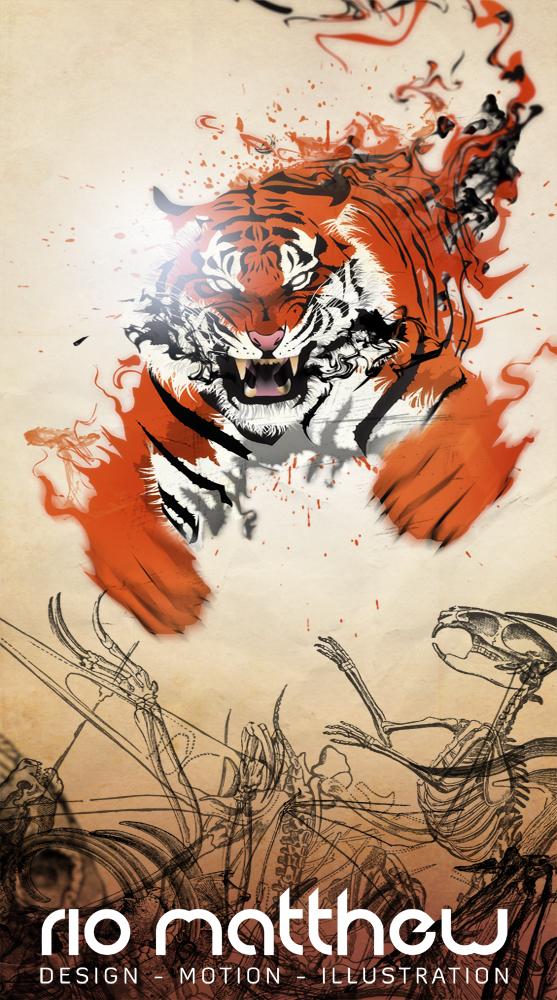 The Tiger by ketsueki-karasu