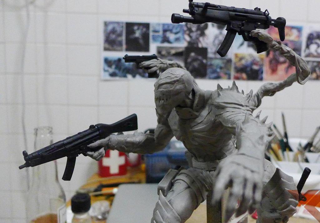Agent Venom WIP 1 by Riomatthew