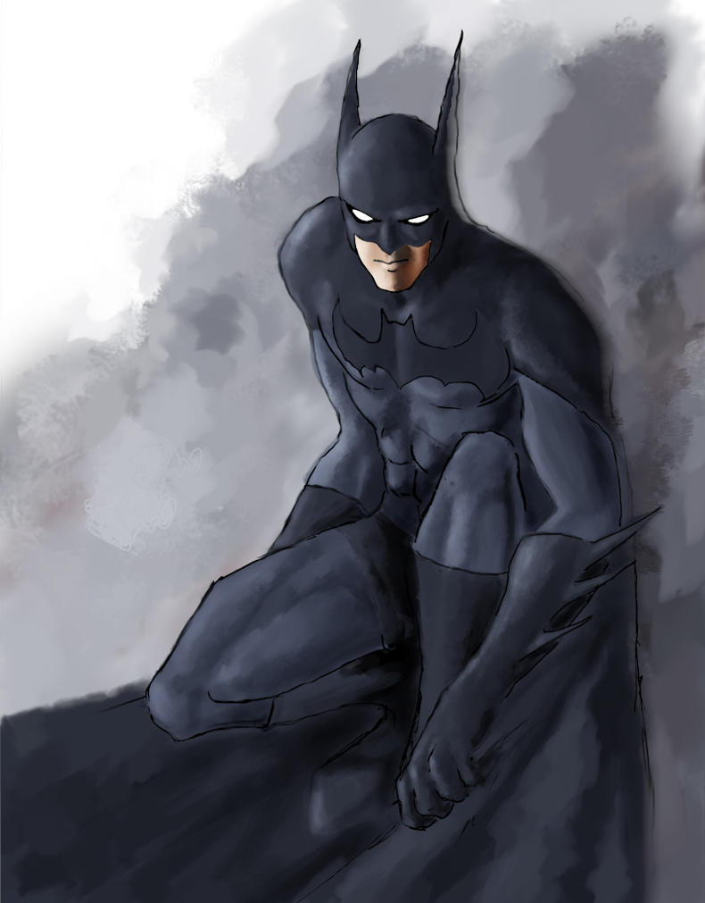 Batman by Riomatthew