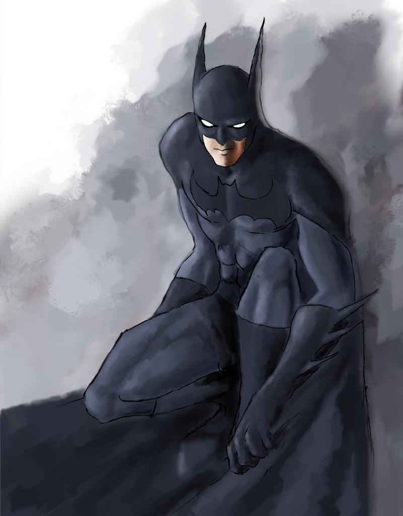 Batman by ketsueki-karasu