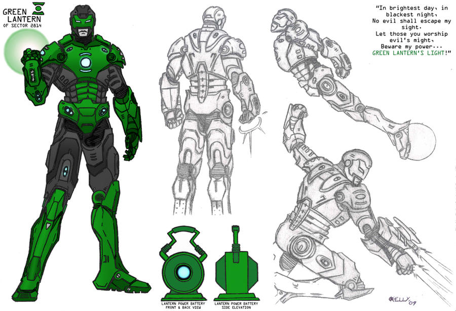 yellow lantern guy gardner