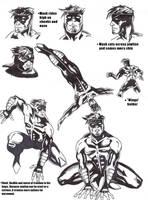 Kameleon Sketch Page by kameleon84