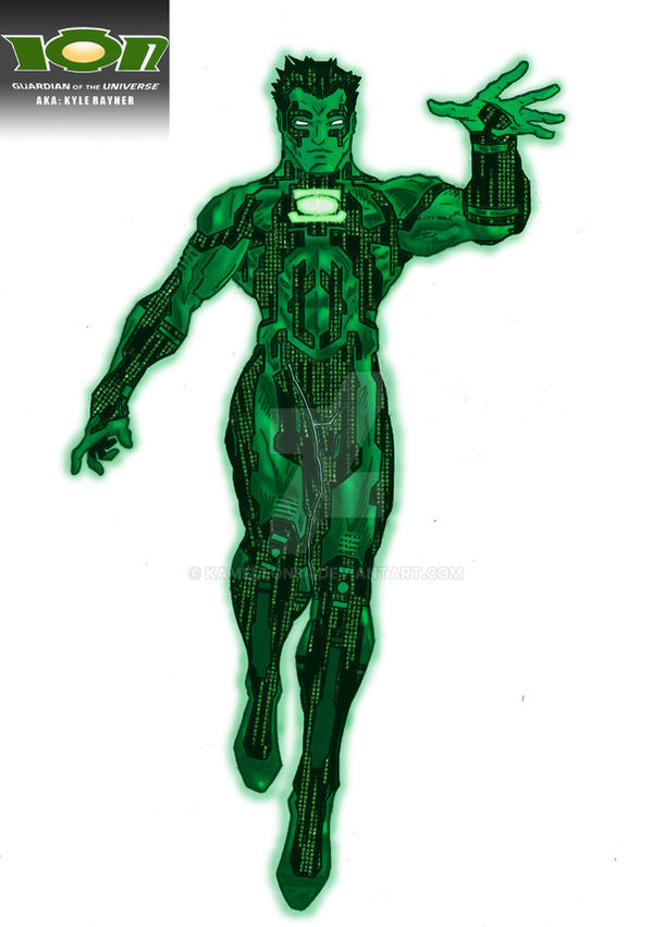 Green Lantern Ion Redesign Colours copy by kameleon84 on ...