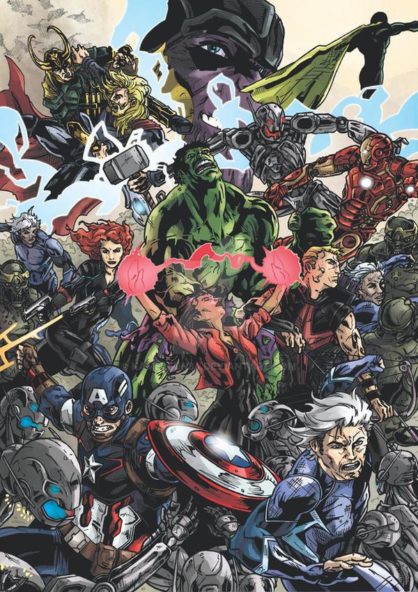 The Avengers by kameleon84