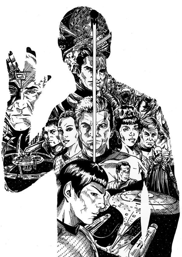 Star Trek by kameleon84