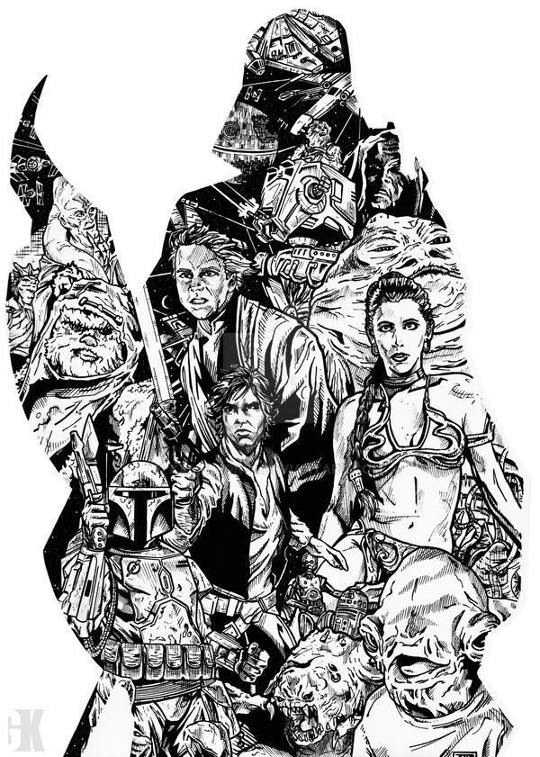 Star Wars Episode VI by kameleon84