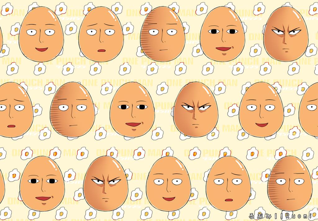 Egg!Saitama Wallpaper by RuoMi on DeviantArt