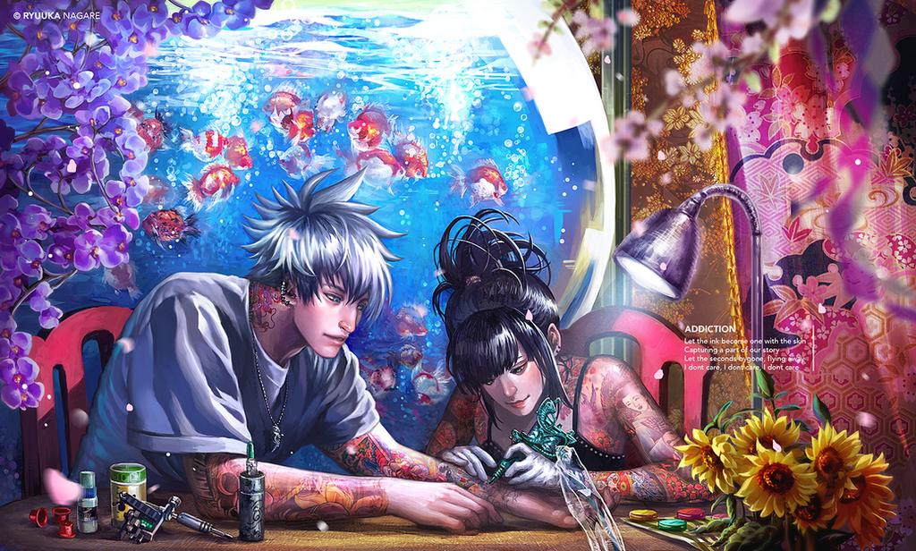 Galeria de Arte: Ficção & Fantasia 1 - Página 6 Addiction_by_ryuuka_nagare-d6v0me9