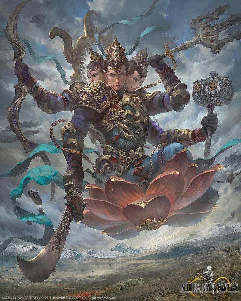 Mobius Final Fantasy ::Brahma:: by Dopaprime