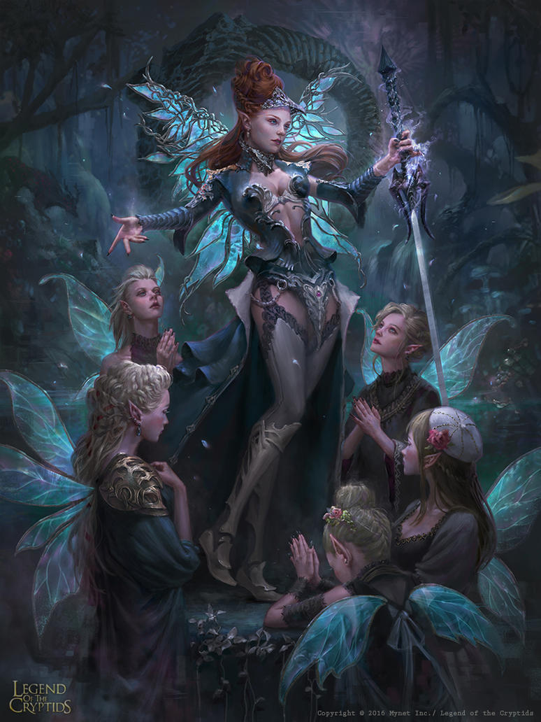 LotC:: Dark Faerie by Dopaprime on DeviantArt