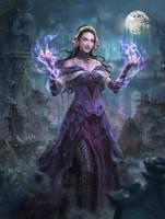 MTG: Liliana, the Necromancer by Dopaprime