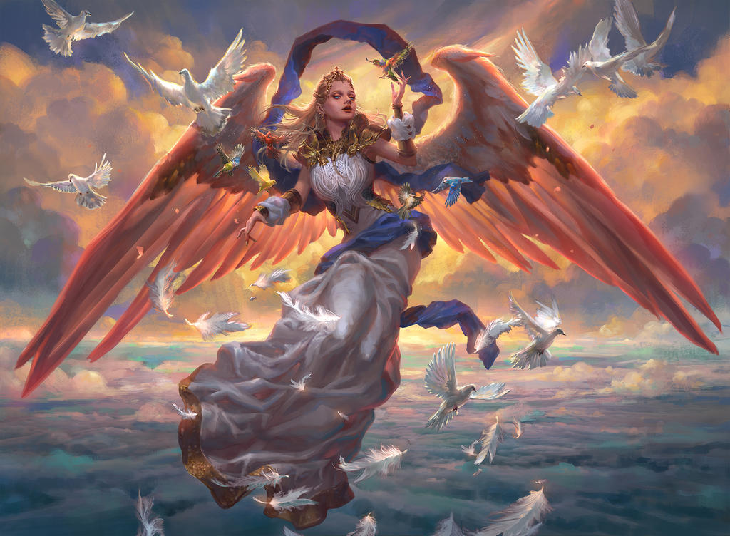 MTG: Angel of Dawn