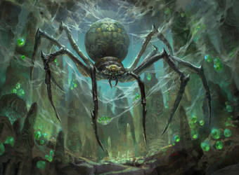 MTG: Hatchery Spider by Dopaprime