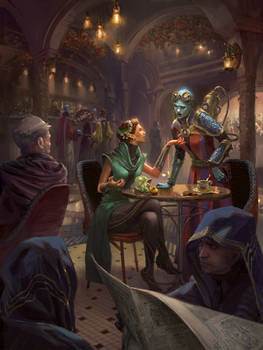 DnD: Inside the Cafe