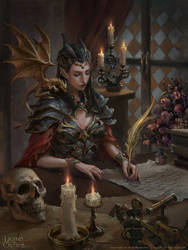 Phantom Queen Demery by Dopaprime