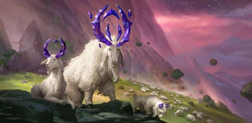 Runeterra: Mountain Goat