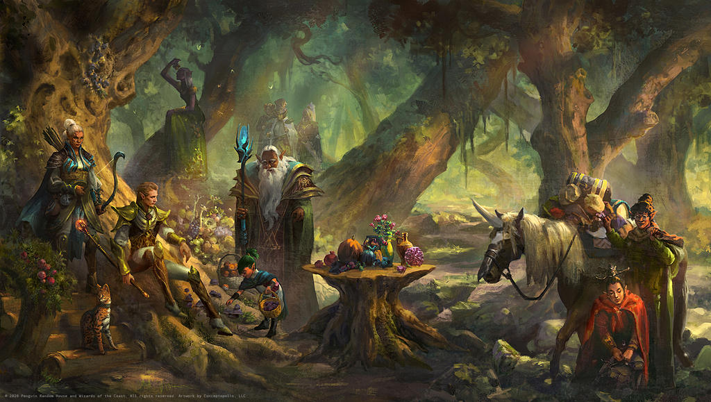Elf: A Woodland Gathering Ceremony