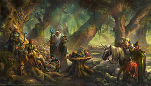 Elf: A Woodland Gathering Ceremony