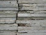 Concrete slabs, far