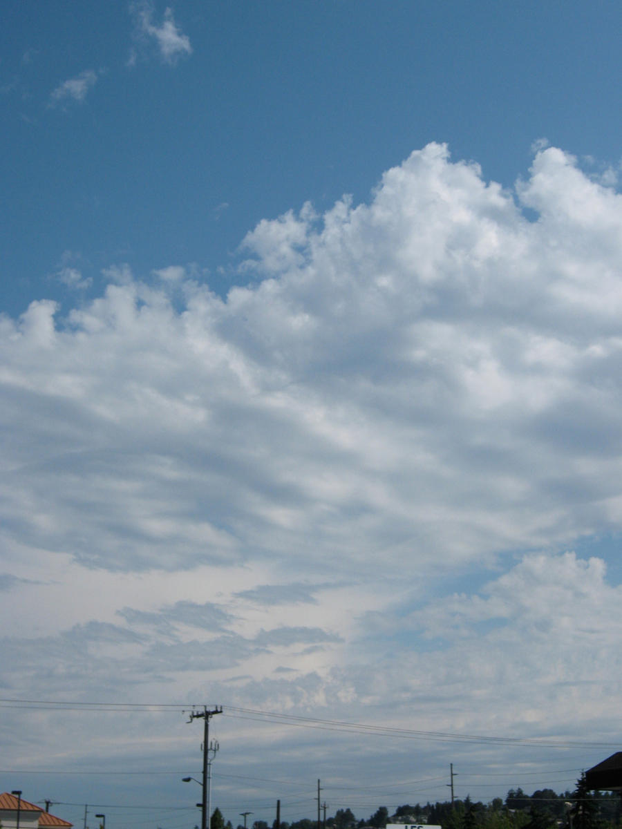 Hot clouds, 3 by Cericonversion
