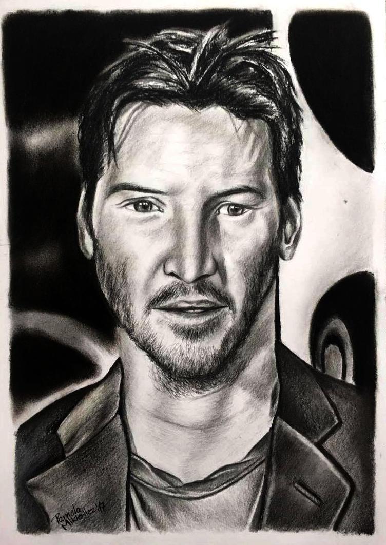 Keanu Reeves by 24Pamela