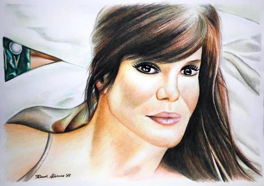 Sandra Bullock by 24Pamela