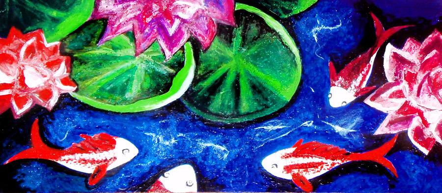 Koi Pond 2 by BebeBellamont