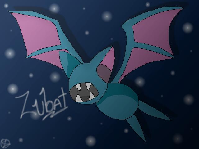 Zubat by Blazestar12